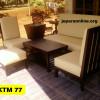 Kursi Tamu Minimalis KTM 77