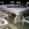 Set Meja Makan Duco Putih