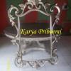 Pigura Cermin Antik Silver