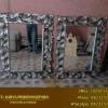 Pigura Cermin Model Daun