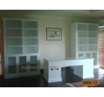 Set Meja Kantor Duko Putih
