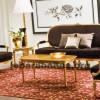 Kursi Sofa Tamu Antik Emas