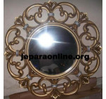 Mirror Pigura Jati