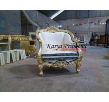 Sofa Louis Gold Leaf