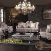 Kursi Tamu Sofa Klasik Silver