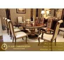 Set Meja Makan Mewah Empire Royal