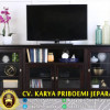 Bufet Tv Jati Minimalis Espresso