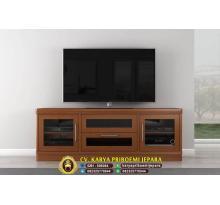 Bufet Tv Jati Minimalis Terbaru