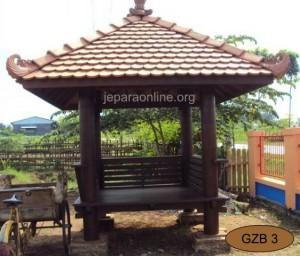 Gazebo taman Genteng