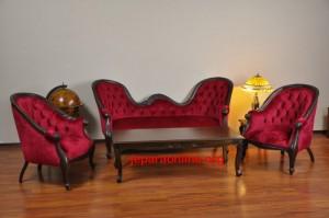 Sofa Tamu Victorian