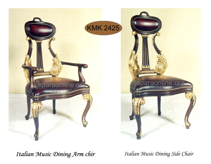Kursi Makan Italian Music
