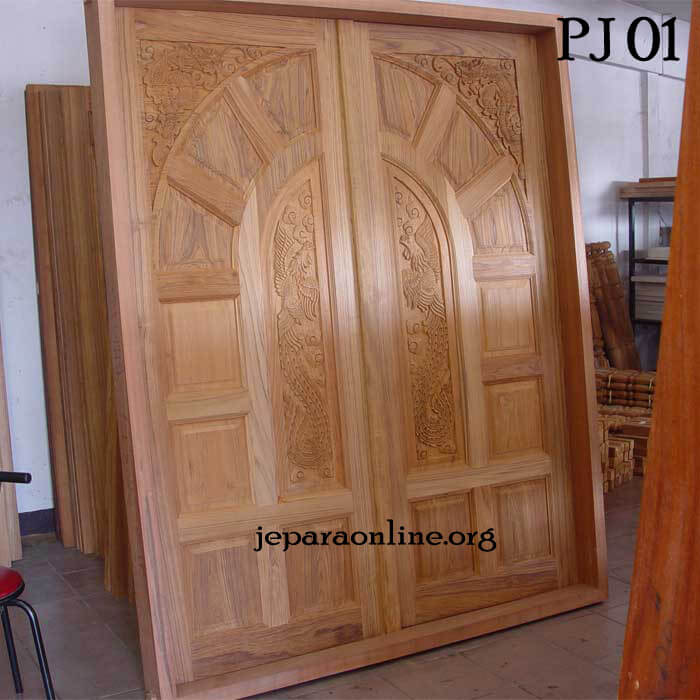 Pintu Jati 01