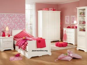 kamar set anak minimalis duko putih