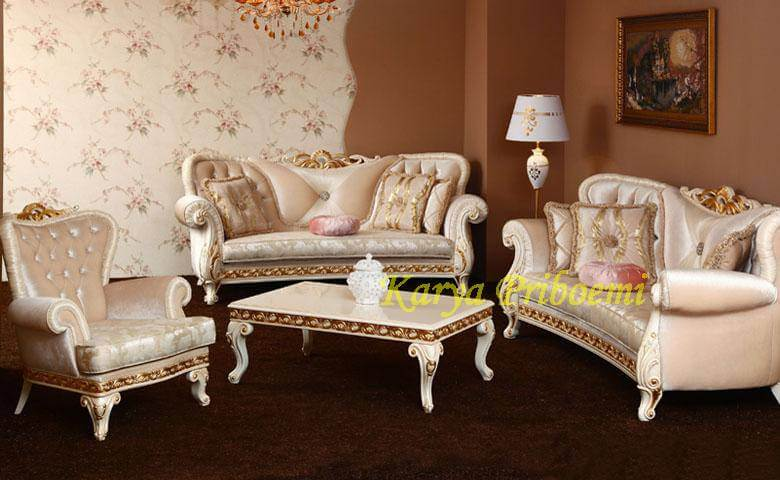 Kursi tamu sofa mewah palermo for Sofa klasik