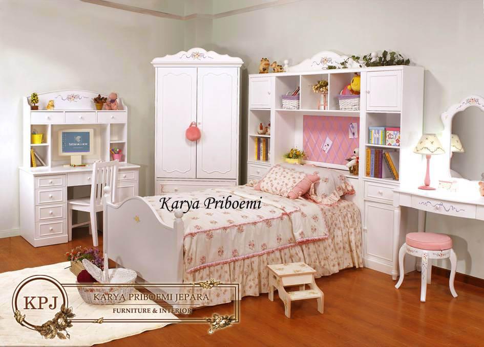 Kamar Set Anak Putri Lukis