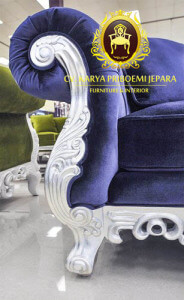 Detail Ukiran Kaki Kursi Sofa Emma
