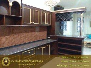 Kitchen Set Jati Minimalis
