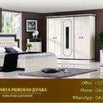 Kamar Set Minimalis Duco Putih Chamonic Terbaru