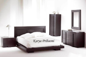Kamar Set Minimalis Modern Terbaru Kayu Jati