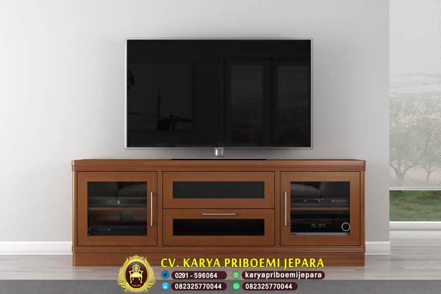 Bufet Tv Jati Minimalis Terbaru, Bufet Tv Jati, Bufet Tv Minimalis