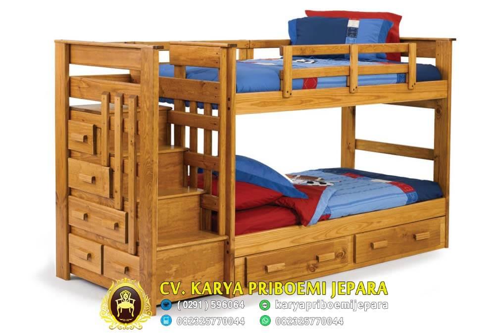 Tempat Tidur Tingkat Jati Minimalis, Tempat Tidur Tingkat, Tempat Tidur Tingkat Minimalis, Tempat Tidur Tingkat Kayu