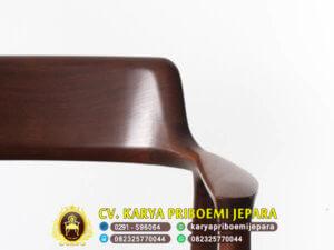 Detail Kursi Cafe Kayu Jati Jepara