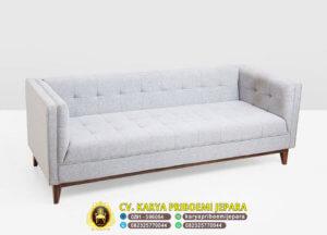 Sofa Tamu Minimalis Mewah Grey