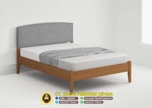 Tempat Tidur Retro Jati Estella, Tempat Tidur Retro Minimalis